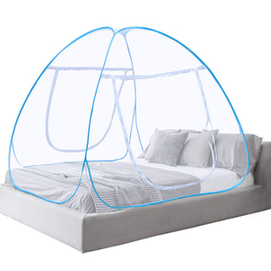 Pop Up Moskitonetz Faltbares Bett Baldachin Anti Mosquito Bites für Bett Camping Travel Home Home Outdoor