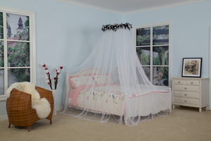 Moskitonetz-Bettdach Ultra Large Bed Canopy Schnelle und einfache Installation Feather Mosquito Net Bed